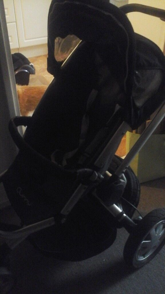 Quinney pushchair and car seat 3 wheels
