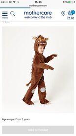 Gruffalo costume 3-4 years £10