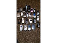 Job lot of phones