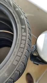 225/45.17 winter tyres x 4