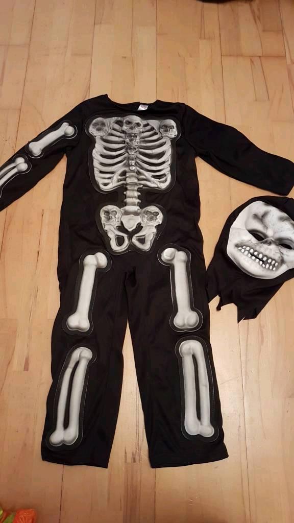 Halloween Skeleton 5-6 Years