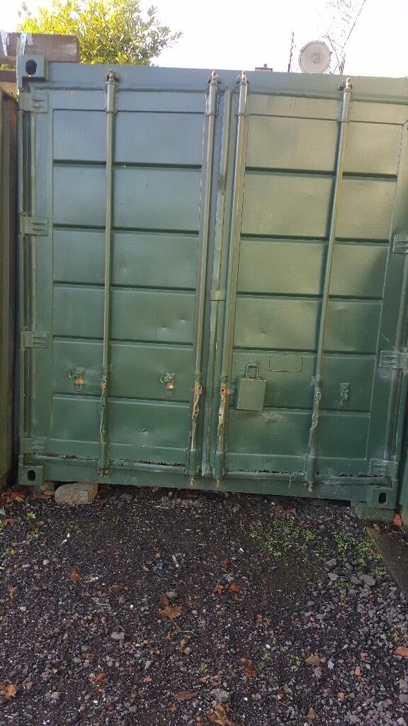 REDUCED 20 FT STEEL CONTAINER ONLY £800 - NO VAT