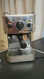 Dualit espressivo coffee machine and accessories