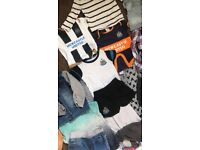 Baby boys clothes 12-18 months and 18-24 moths