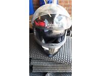 SHARK S900 Vampire special edition crash helmet