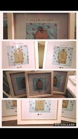 Hand Made Personalised Frames 🎀