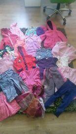 MASSIVE BUNDLE 60 ITEMS(age 4-5)GIRLS CLOTHES