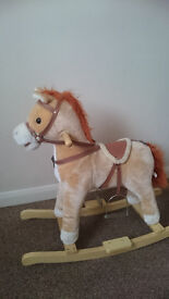 Rocking Horse With Side Saddle (good condition)