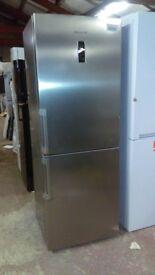 HOTPOINT silver 70cm fridge freezer ex display