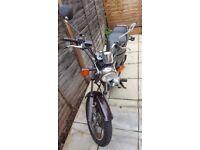Yamaha SR125 2002 great learner motorbike
