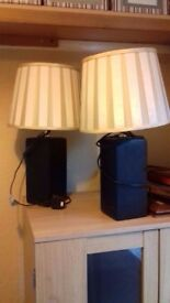 2 x Lamps