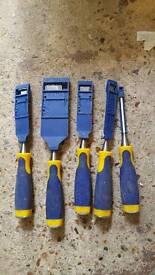Irwin 5 chisel set