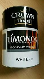 Crown timonox white paint 2x 5 l- Interior using