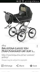 Ballerina classic 3in1 travel system