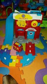 Toot toot fire station