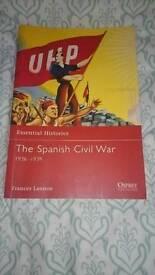 Spanish Civil War history book