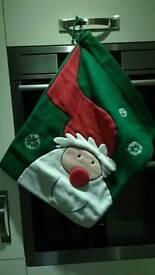 2 unused and boxed long lasting santa sacks £6 pr