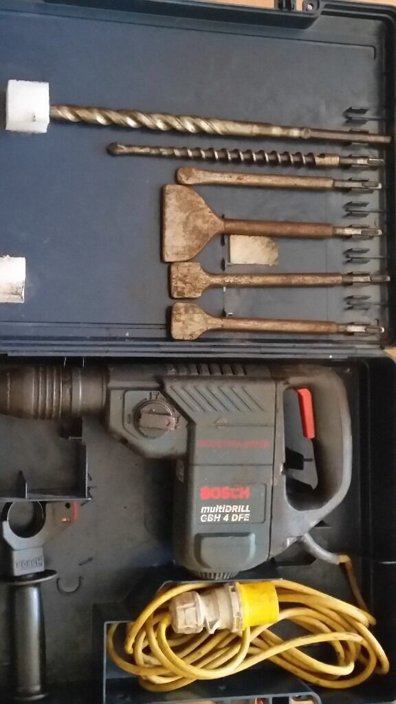 BOSCH GBH 4 DFE MULTIDRILL Professional drillin Yardley, West MidlandsGumtree - BOSCH GBH 4 DFE MULTIDRILL Professional drill this Bosch drill helps you to complete your drilling tasks swiftly would need connection box but in fully working order good condition fully working comes with case and drill bits included £120 open to...