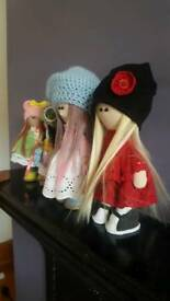 Handmade dolls, home decor