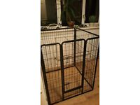 Dog crate nearly new large