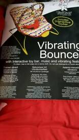 Brand new vibrating bouncer
