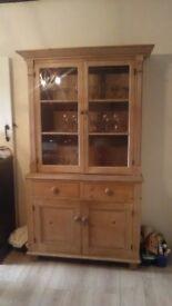 Antique stripped pine dresser