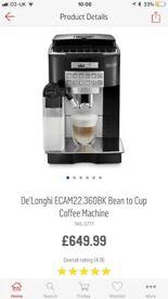 Magnificent cappuccino coffee machine