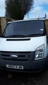 Ford transit 2007 LOW MILES, Recent MOT