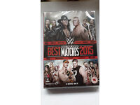 Official WWE Best PPV Matches 2015 - NEW DVD 3 Disk Set - Would Make A Great Gift