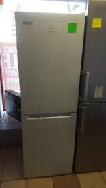 Irelands Appliance Centre - Graded - Indesit LD70N Frost Free Fridge Freezer - White