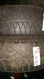 175/65/14 goodyear part worn tyres 7mm