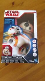 Star Wars - The Last Jedi Hyperdrive BB-8. Brand new in box. Unwanted prize