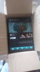 Brand new Logitech C920 Webcam + Tencro Adjustable Webcam Stand