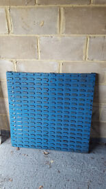 Heavy Duty Storage Bin Rack