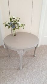 Lovely little coffee/side/occasional table finished in Annie Sloane chalk paint