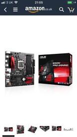 ASUS Intel Lga1151 B150 M Pro Gaming DDR4 Micro-Atx Motherboard