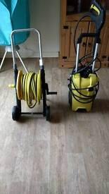 Karcher power washer + hose