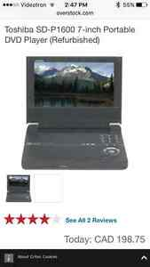 Toshiba Portable DVD Player