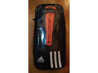 Adidas Predator Replique Football Rugby ShinGuard Lightweight Shield L Orange/Black