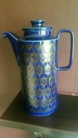 Hornsea rare blue midnight coffee pot