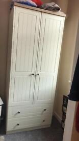 Cream single wardrobe