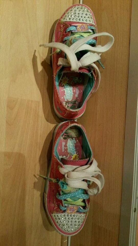 Twinkle Toes Skechers Kinderschuhe Größe 29 blinken bunt