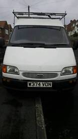 Ford transit smiley face