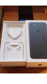 Iphone 7 box new earphone and new charger only. No phone