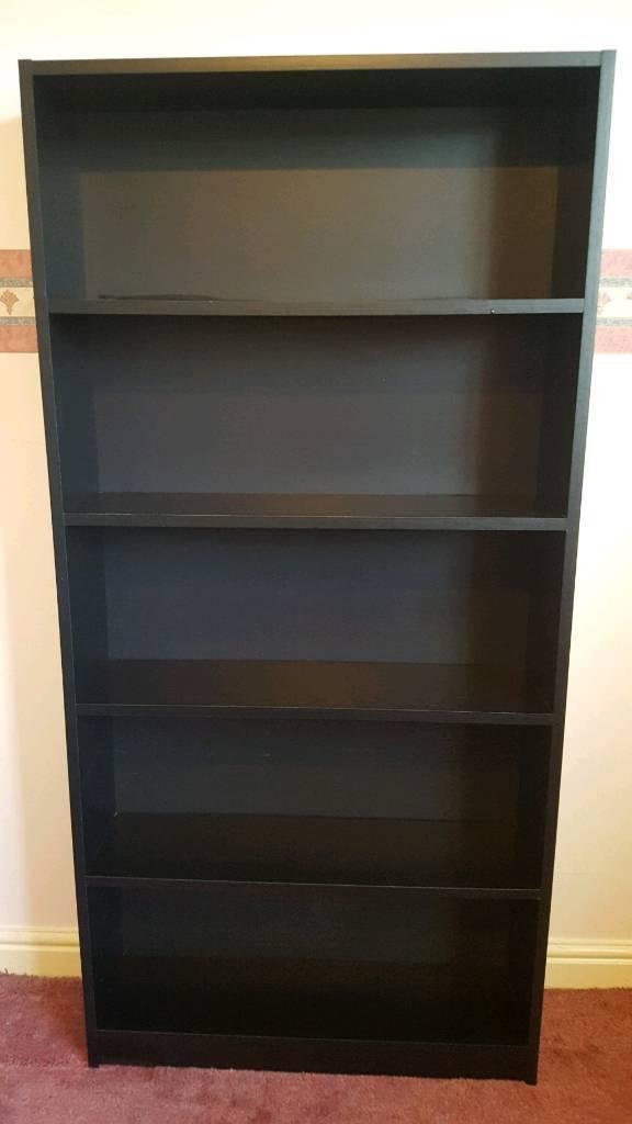 Bookshelf / Storage Unit - Black - Excellent Condition