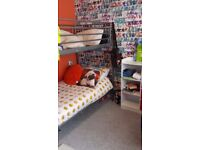 Quick sale lovely metal bunk beds!!