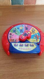Fireman Sam Activity wheel.