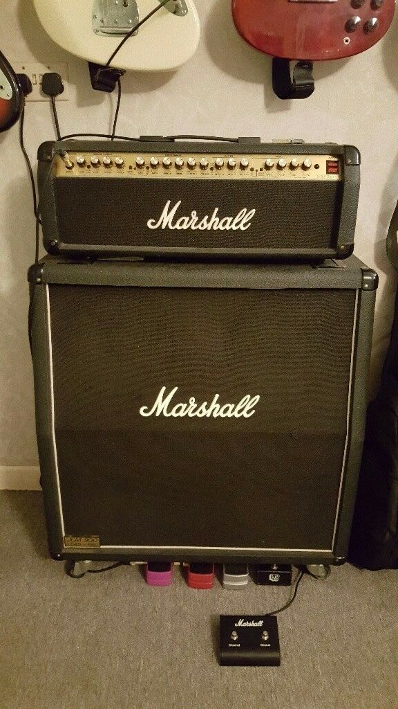 Marshall 200w Valvestate with 4 x 12 cabinet