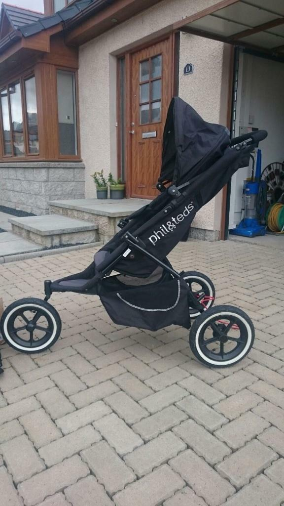 Phil And Teds Classic Double Buggy In Peterhead