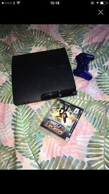 Ps3 with one pad and a game
